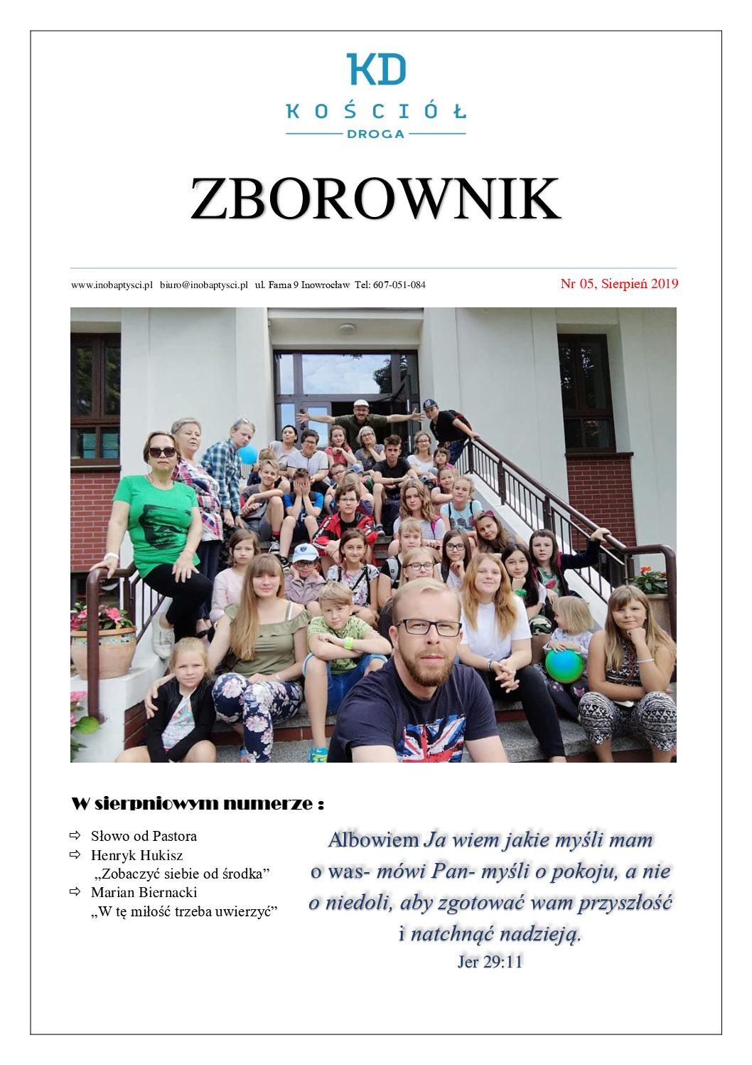 Wakacyjny numer Zborownika